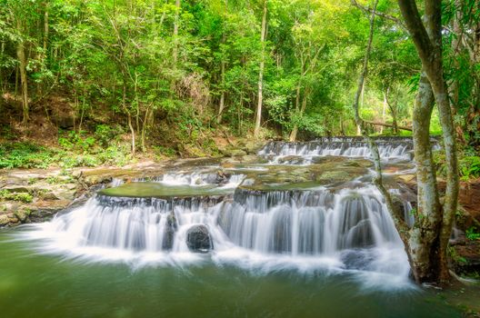 Photo free trees, waterfall, Thailand