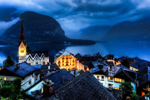 Фото бесплатно Гальштат, Хальштатт, Австрия