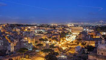 Фото бесплатно Рим, Италия, панорама