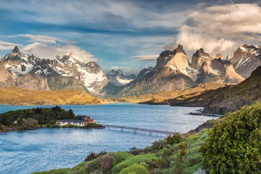 Photo free Torres del Paine, Patagonia, Chile