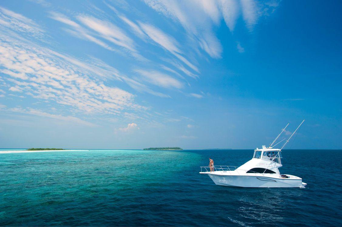 Фото бесплатно море, яхта, лодка - на рабочий стол