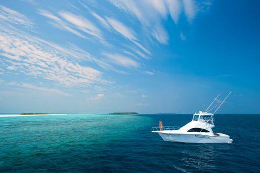 Фото бесплатно море, яхта, лодка