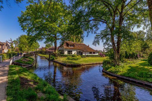 Фото бесплатно города, Нидерланды, деревня