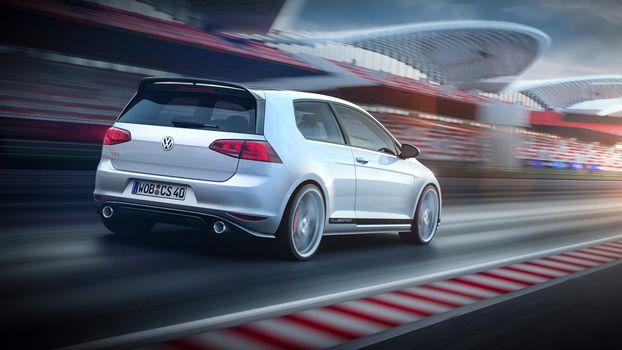 Photo free car, Volkswagen, motion blur