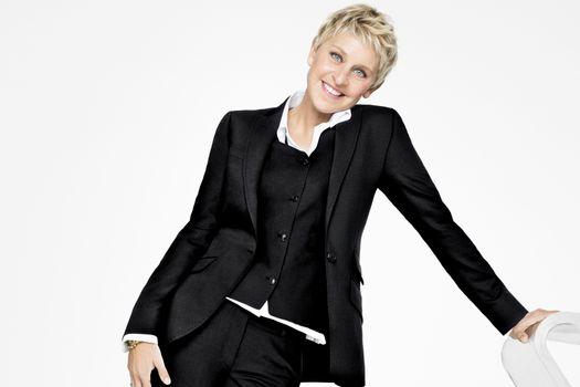 Photo free jacket, Ellen Degeneres, actress