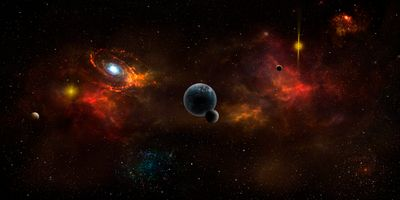 Фото бесплатно вселенной, без имени пространства, вакуума