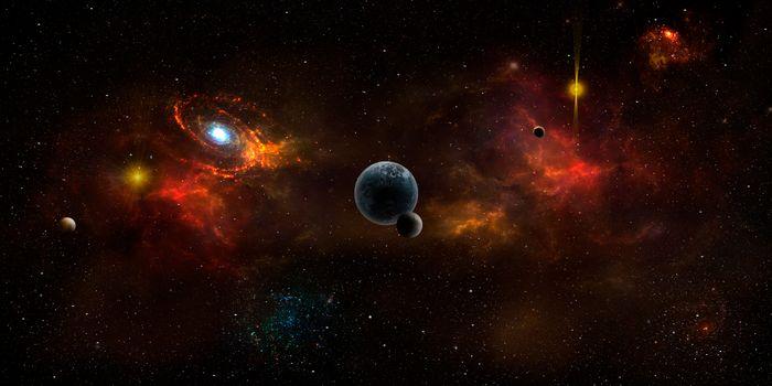 Заставки вселенной, без имени пространства, вакуума