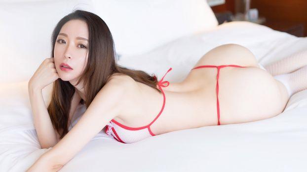 Заставки красота, азиатка, Meng Xin Yue