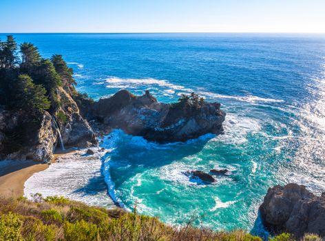 Фото бесплатно природа, калифорнийская скала, побережье калифорнии
