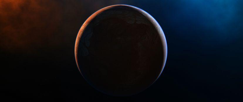 Фото бесплатно планета, цифровая Вселенная, космический