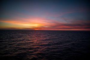 Фото бесплатно закат, вечер, облака