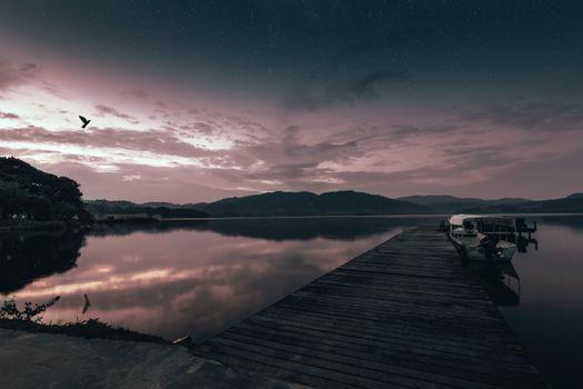 Фото бесплатно лодка, пирс, море
