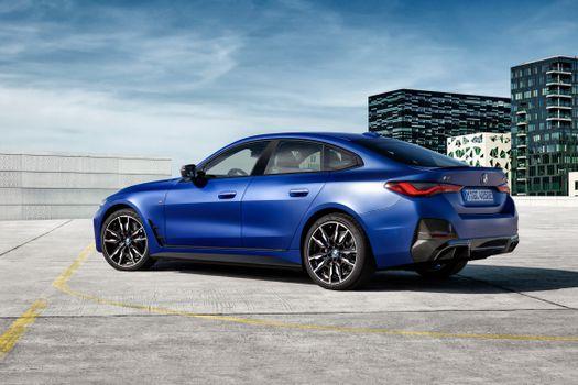 Photo free car, BMW, blue