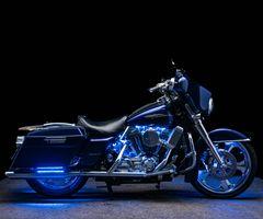 Фото бесплатно концепция мотоциклами, Harley Davidson, черный фон