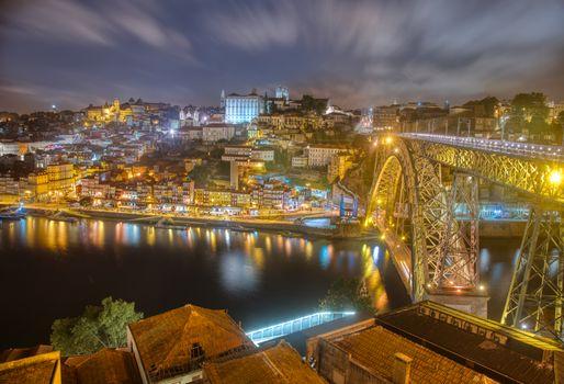 Photo free Porto at Night, Porto, Portugal