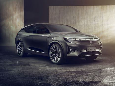 Photo free Byton, electric cars, 2018 cars