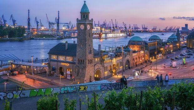 Красивые картинки гамбург, гамбург