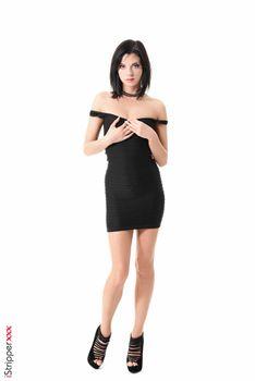 Фото бесплатно молодая женщина, моника бенз, брюнетка