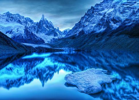Photo free Antarctica, lake, landscape