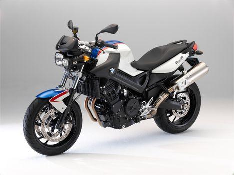 Фото бесплатно мотоцикл, BMW мотоцикл, белый