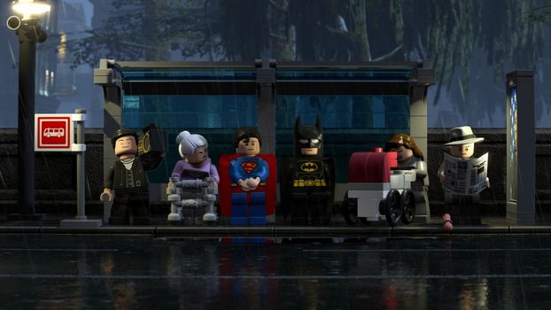 Фото бесплатно The Lego Batman, Joker, Animated Movies