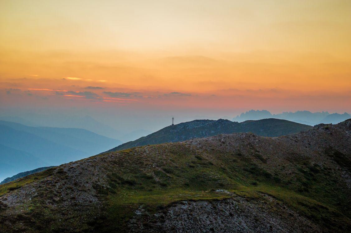 Фото пейзаж природа горизонт - бесплатные картинки на Fonwall