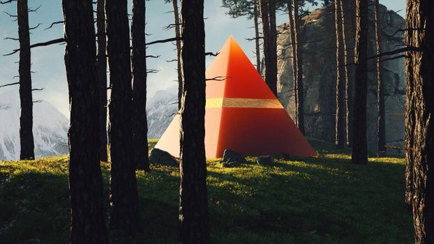 Photo free Triangle, Artist, artwork
