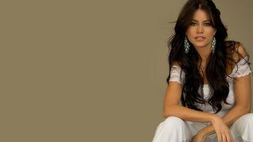 Бесплатные фото София Вергара, длинные волосы, брюнетка, актриса, девушка