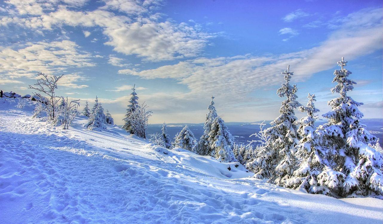 Фото холм небо горные вершины - бесплатные картинки на Fonwall