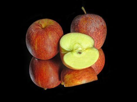 Фото бесплатно яблоки, фрукты, десерт