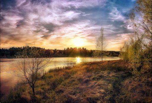 Free lake, sunset - new photos