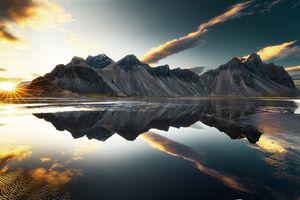 Зеркальное озеро · бесплатное фото