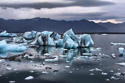 Photo free winter, landscapes, arctic ocean