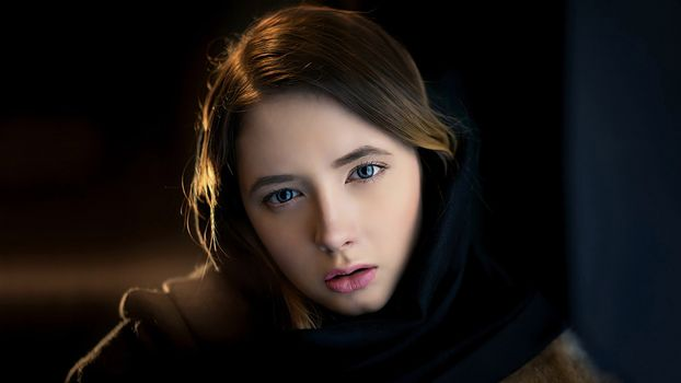 Portrait of a girl 75