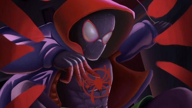 Заставки паук, супергерои, цифровое искусство