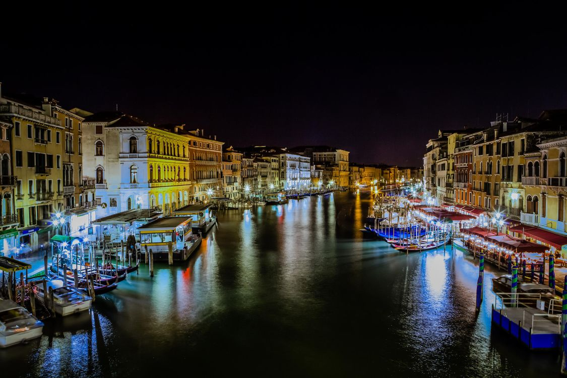 Free photo Venice, Italy, Grand Canal - to desktop