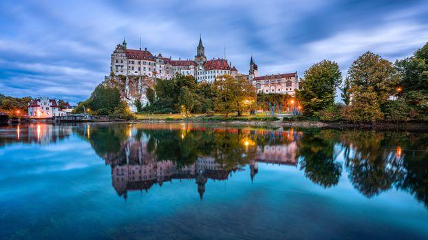 Фото бесплатно замки Германии, река, реки Германии