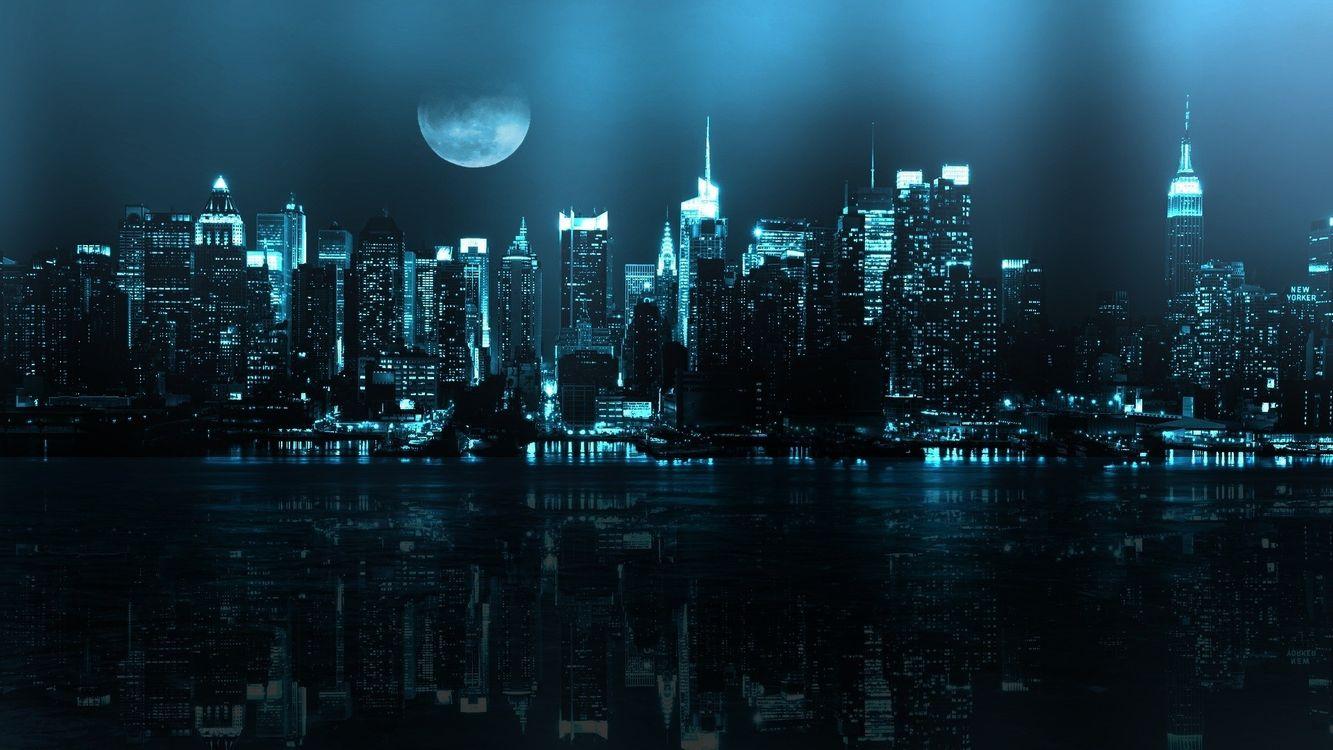 Фото цифровое искусство монохромный город - бесплатные картинки на Fonwall