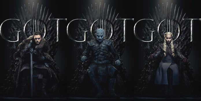 Screensavers King of the night, Game of thrones, season 8