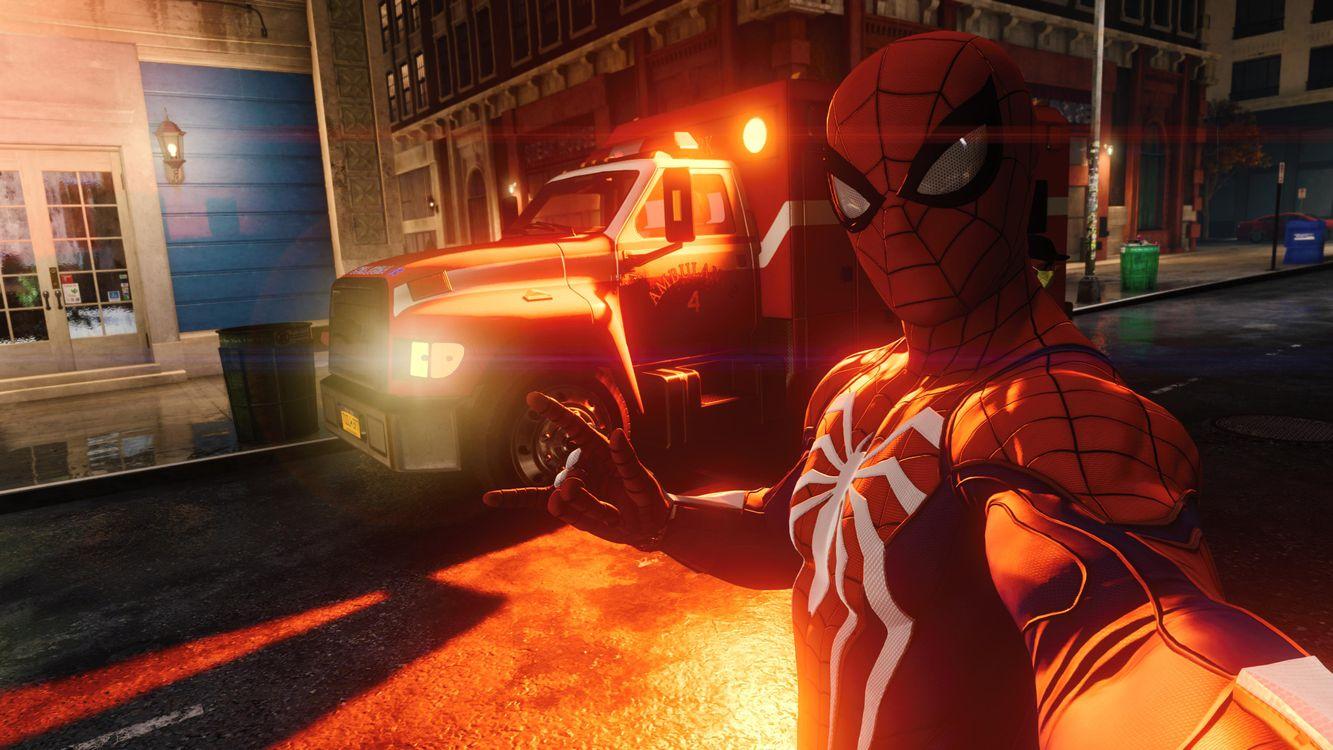 Фото бесплатно паук, супергерои, игры - на рабочий стол