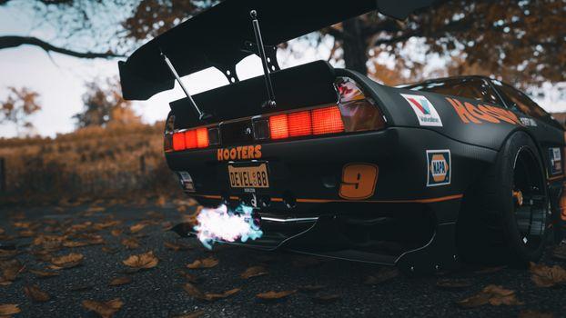 Photo free horizon Forza 4, Honda NSX, racing games