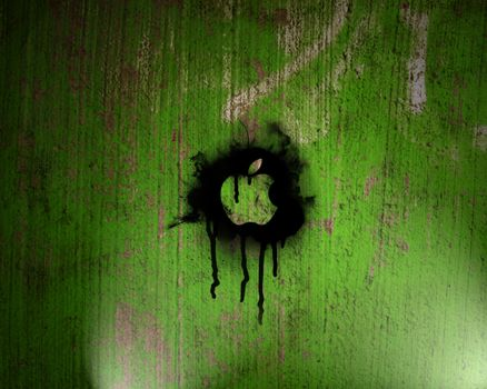 Photo free wall, divorce, green