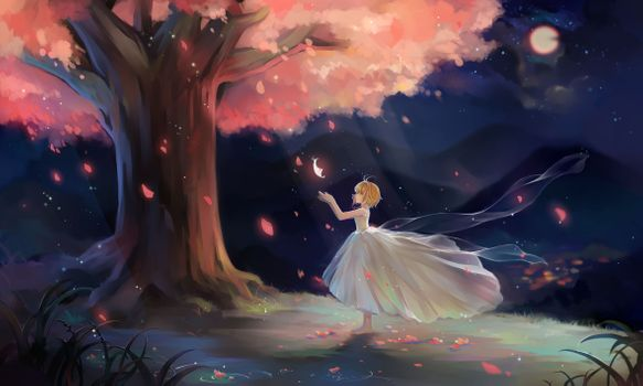 Фото бесплатно вишни, милая, лепестки