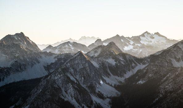 Photo free snowy, winter, mountain pass