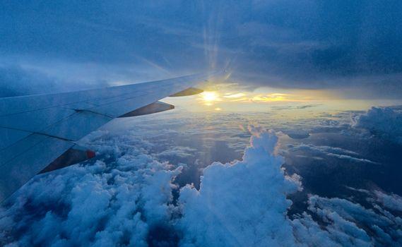Photo free sun light, altitude, sunset