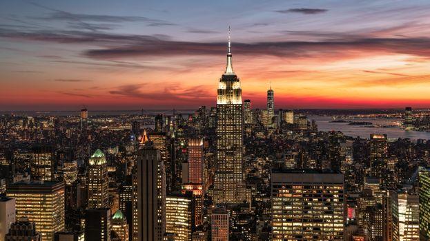 Фото бесплатно города, манхэттен, Нью-Йорк