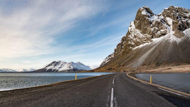 Фото бесплатно горы, склон, дорога