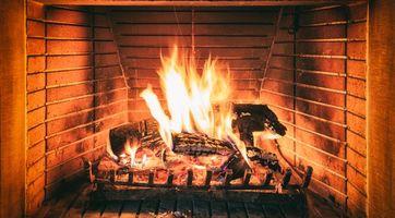 Фото бесплатно камин, огонь, пламя