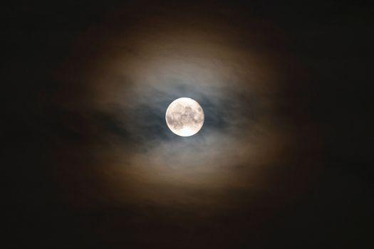 Фото бесплатно луна, ночь, светящиеся