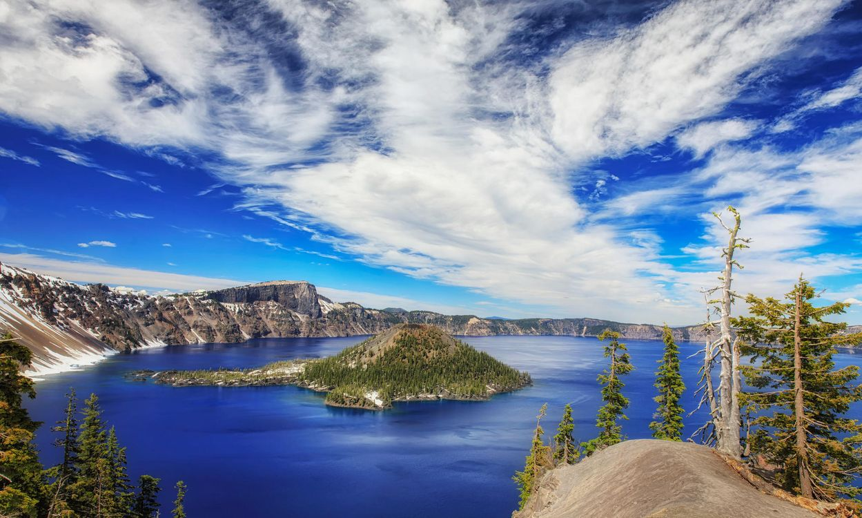 Фото бесплатно Crater Lake National Park, Oregon - на рабочий стол